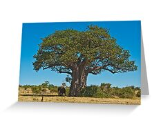 Lonely giant Greeting Card