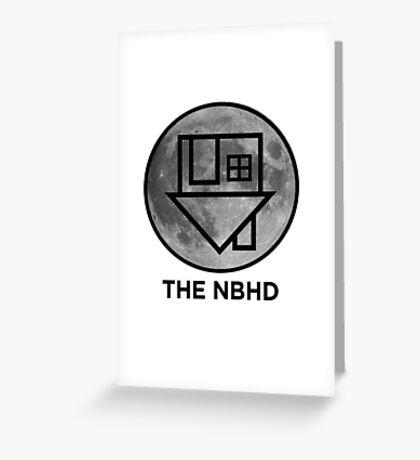 The NBHD - Moon Print Greeting Card