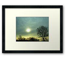 Canadian Sunrise Framed Print