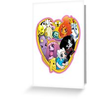 Adventure Time - Group Hug Greeting Card
