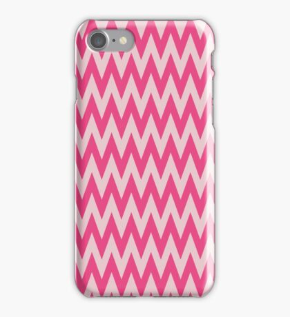 Neon Pink Chevron iPhone Case/Skin
