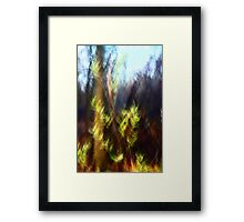 Don't let summer end - Irwin Prairie Nature Preserve Framed Print