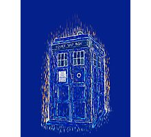 tardis by Vincent Photographic Print