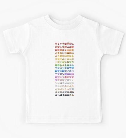 Emoji by colors Kids Tee