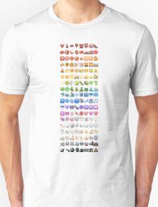 Emoji by colors Unisex T-Shirt
