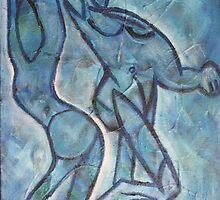 BlueDancers by Matt Tewes