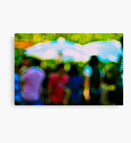 So colourful day...Got 2 Featured Works Canvas Print