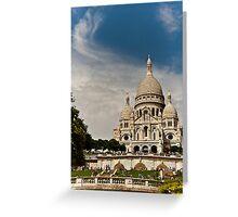 Le Sacre Coeur,Paris. Greeting Card
