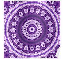 Mystical Violet Blossom Poster