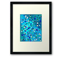 Blue Pills Framed Print
