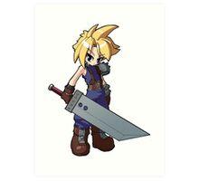 Final Fantasy VII - Cloud Strife Art Print