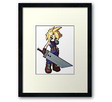 Final Fantasy VII - Cloud Strife Framed Print