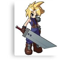 Final Fantasy VII - Cloud Strife Canvas Print