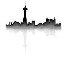 Toronto Skyline by Reilly Ballantyne