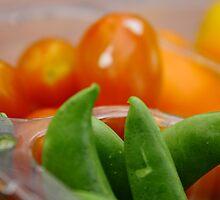 Colorful veggies by Gabriel Scott