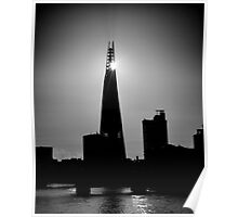 The Shard With The Morning Sun Poster