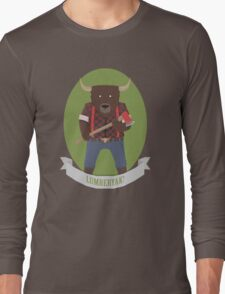Lumberyak!  Long Sleeve T-Shirt