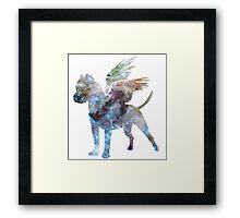 Space Milafly Framed Print