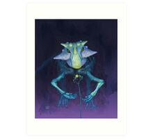 Electric Parrot (Psittacosaurus sibiricus) Art Print
