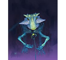 Electric Parrot (Psittacosaurus sibiricus) Photographic Print