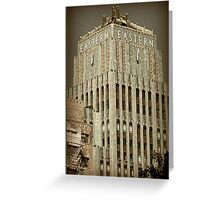 Eastern Building - L.A. Greeting Card