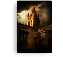 Christmas Lights Canvas Print