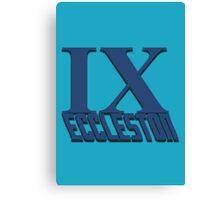 Doctor Who: IX - Eccleston Canvas Print