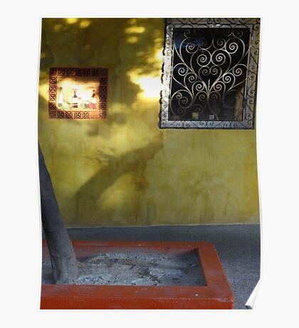 Morning sun and colours I - Sol de la mañana y colores Poster