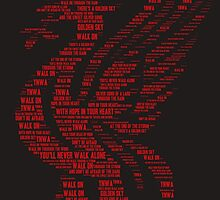 You'll Never Walk Alone Liver Bird by teesnstuff