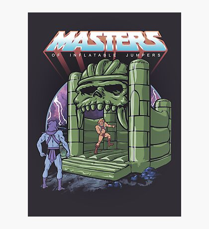 Inflatable Castle Grayskull Jumper Photographic Print