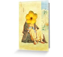 Observation's of a Man with Selective Blindness. Greeting Card