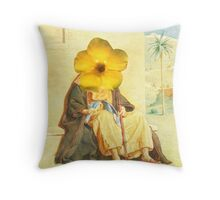 Observation's of a Man with Selective Blindness. Throw Pillow