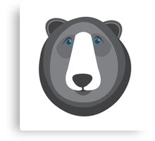 Forest Friends: Bear Canvas Print