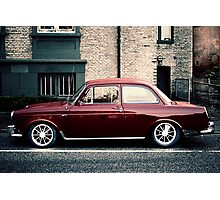 Lomo car Photographic Print