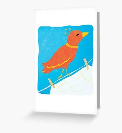 Sister Bird Greeting Card