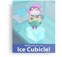 Ice Cubicle Metal Print