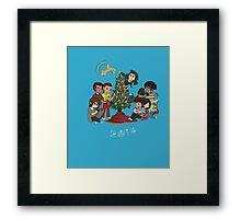 Christmas 2014 Family Framed Print