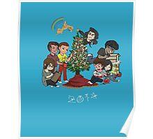 Christmas 2014 Family Poster