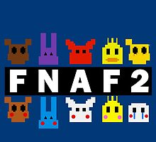 Five Nights At Freddy's 2 Pixel Shirt by GL4D0S