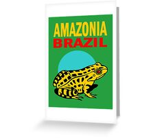 AMAZONIA, BRAZIL Greeting Card