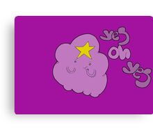 Lumpy Space Princess Canvas Print
