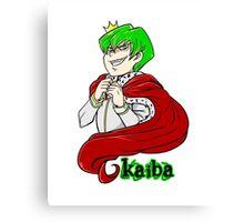Kaiba green hair Yu-Gi-Oh! Canvas Print