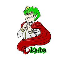 Kaiba green hair Yu-Gi-Oh! Photographic Print