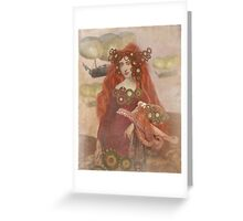 The Travelers  Greeting Card