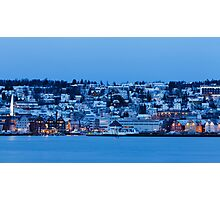 Downtown Tromsø Photographic Print