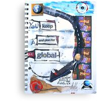 keep a global plan Canvas Print