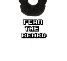 Fear The Beard - Basketball - James Harden by Javirc14