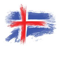 Iceland flag by T J B