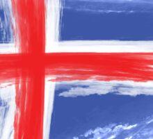 Iceland flag Sticker