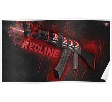 Ak-47 | Ibuypower redline Poster